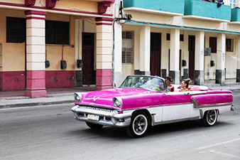 Classic Cars Abound in Cuba